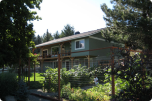 Side View of Methow Suites