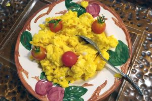 Breakfast-Fresh Scrambled Eggs